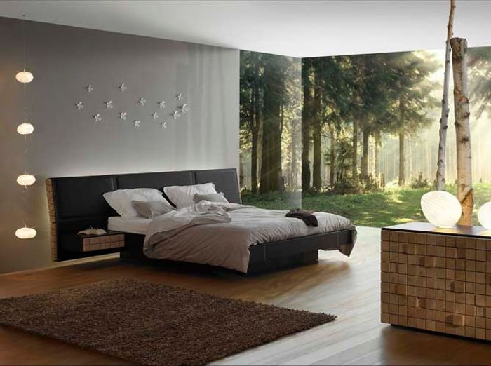 deco de chambre design. Black Bedroom Furniture Sets. Home Design Ideas