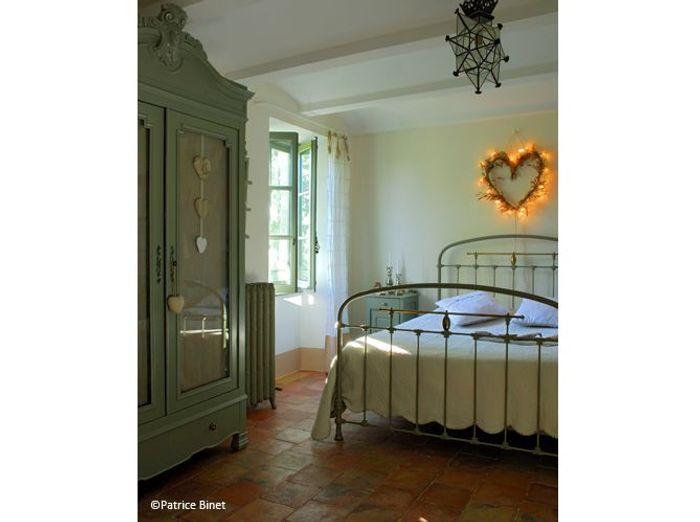 Chambre romantique fer forge