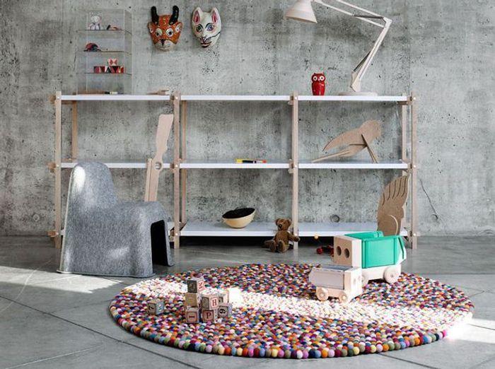 Craquez pour un tapis dans la chambre de votre enfant