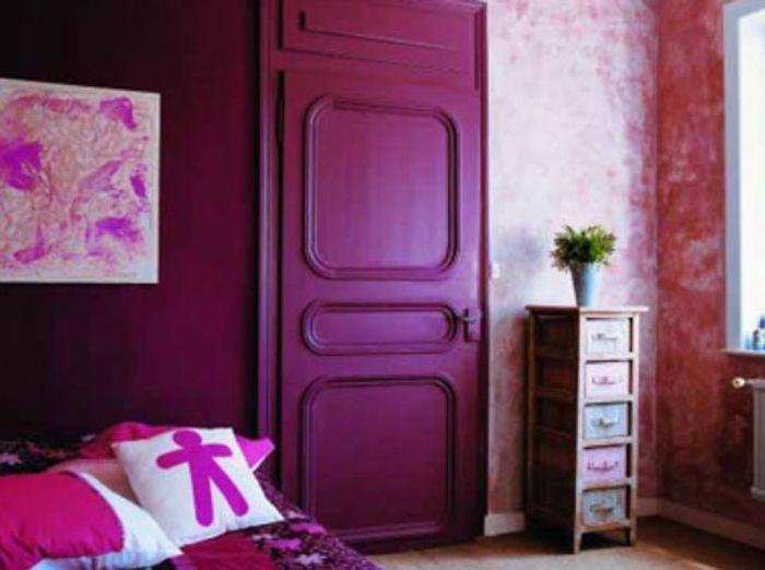 Des chambres hautes en couleurs elle d coration - Chambre rose fushia ...