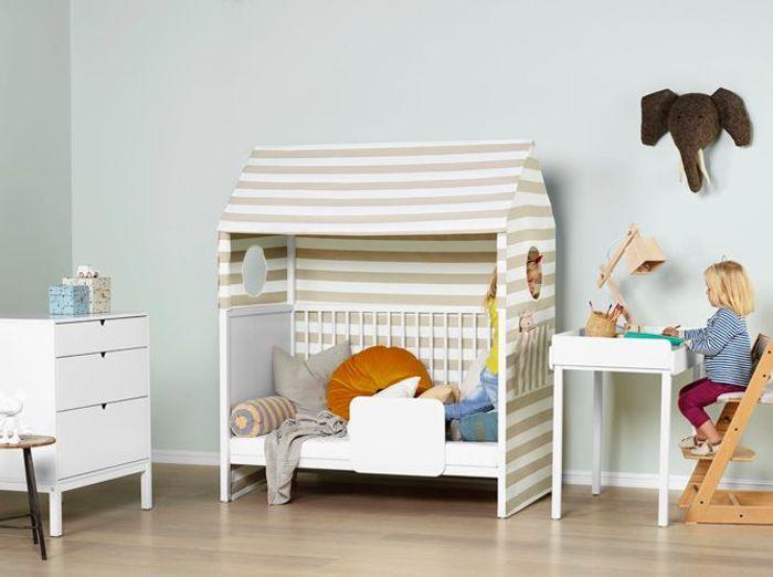 une chambre de fille pure - Chambre Petite Fille Design