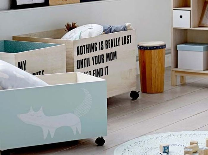 chambre d 39 enfants nos id es en pagaille pour bien la ranger elle d coration. Black Bedroom Furniture Sets. Home Design Ideas