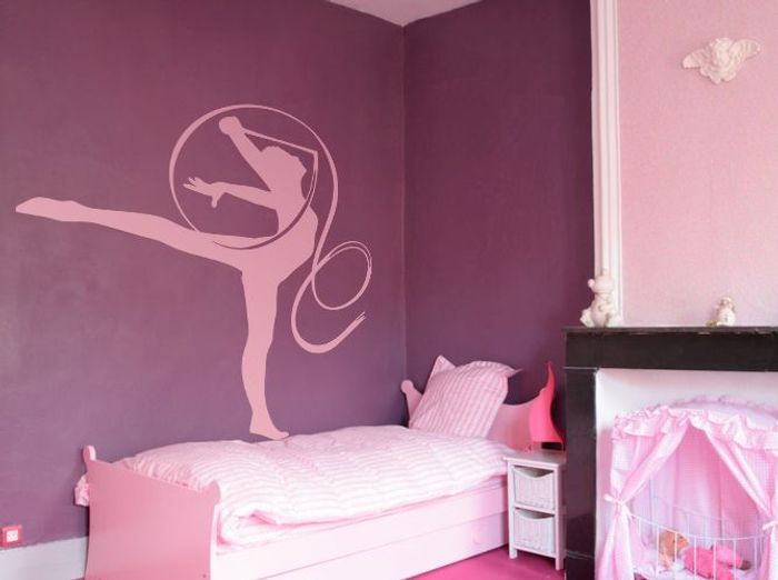 Stickers Chambre Fille Danseuse