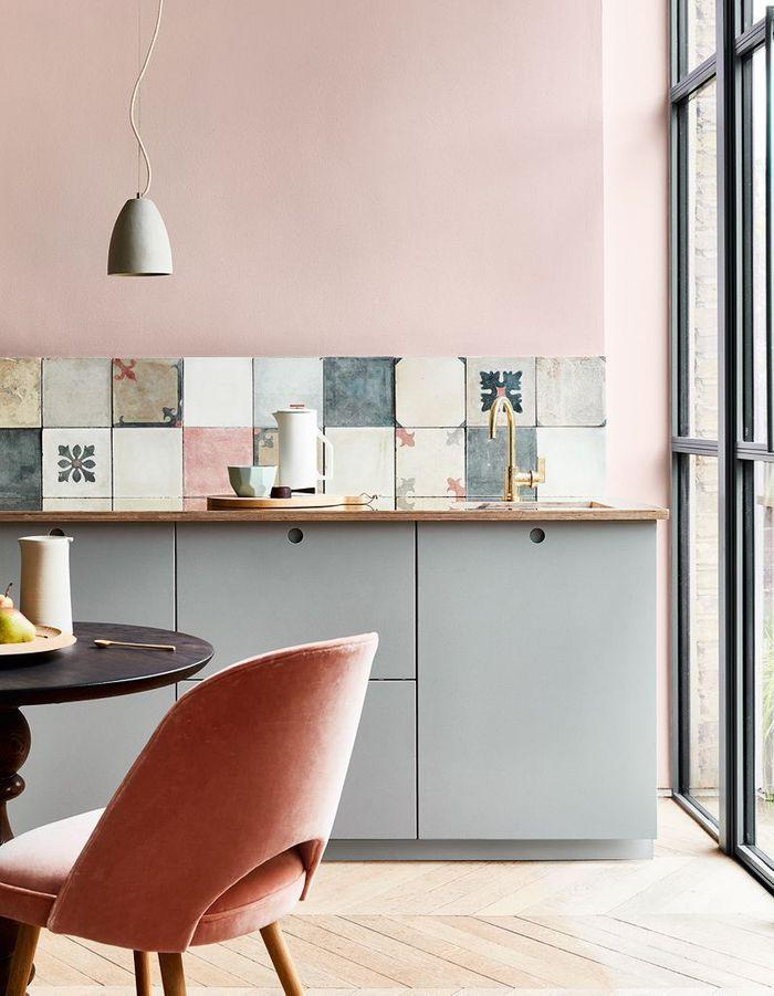 cuisine color e d couvrez toutes nos inspirations elle d coration. Black Bedroom Furniture Sets. Home Design Ideas
