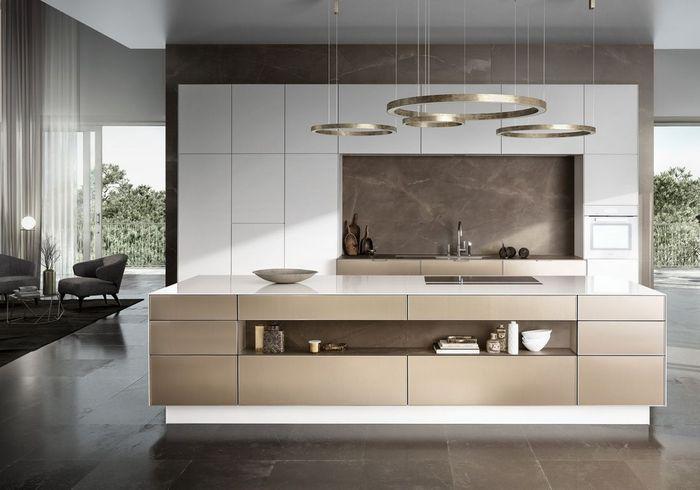 un plan de travail cr me pour une cuisine intemporelle des plans de travail pour tous les. Black Bedroom Furniture Sets. Home Design Ideas