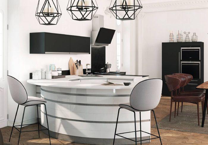 cuisine am ricaine optez pour un espace de vie convivial gr ce la cuisine am ricaine elle. Black Bedroom Furniture Sets. Home Design Ideas