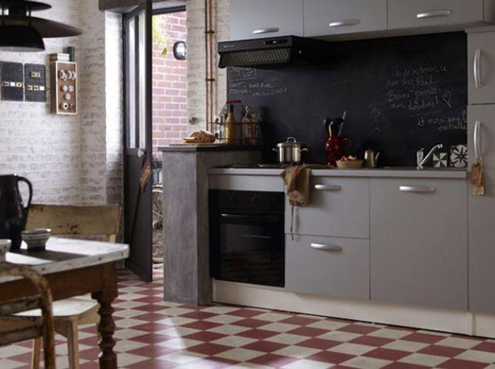 la cuisine esprit campagne nous charme elle d coration. Black Bedroom Furniture Sets. Home Design Ideas