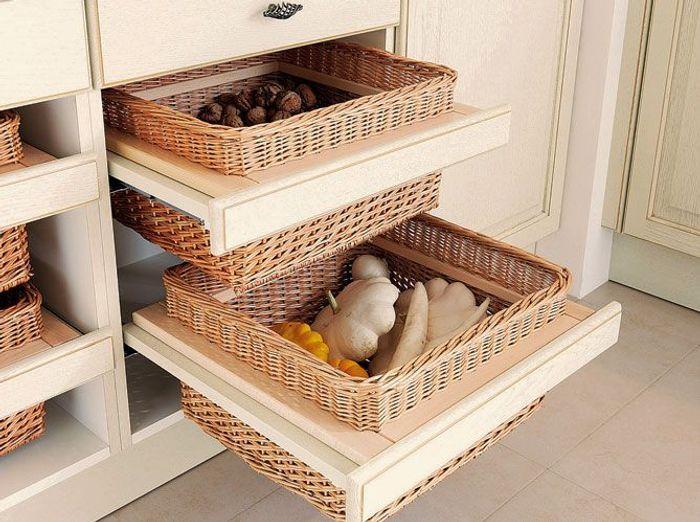 des rangements ultra pratiques pour ma cuisine elle d coration. Black Bedroom Furniture Sets. Home Design Ideas