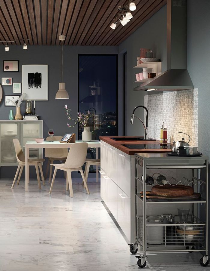 Cuisine Ikea contemporaine