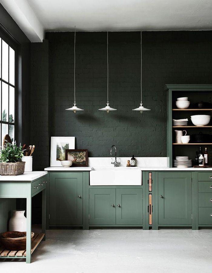 nos id es pour am nager une belle cuisine vintage elle d coration. Black Bedroom Furniture Sets. Home Design Ideas