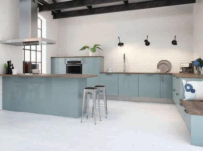 Cuisines design nos mod les pr f r s elle d coration for Orval creation tapis de cuisine
