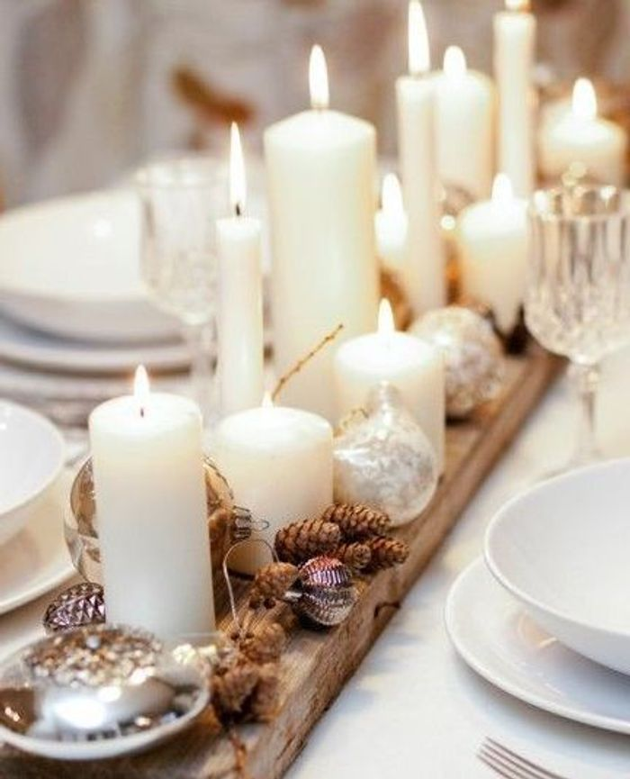 10 inspirations d co pour une table de r veillon sur son 31 elle d coration - Esszimmertisch deko ...