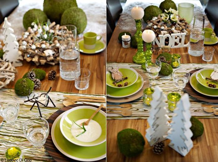 50 tables de f te elle d coration - Decoration de table nature ...