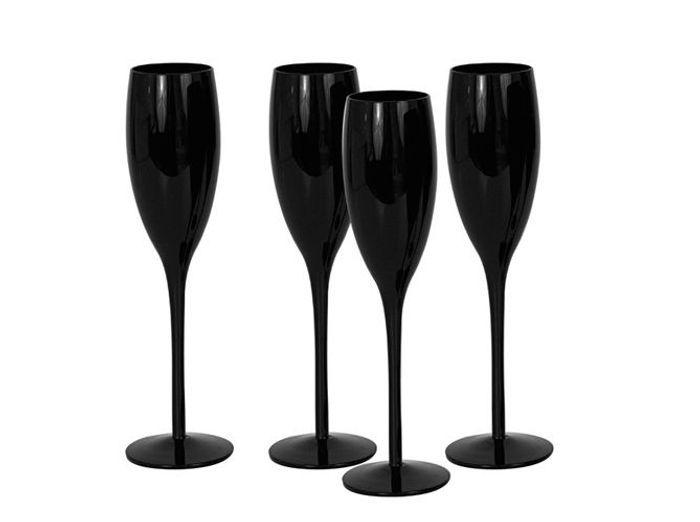 Flute Champagne Noire