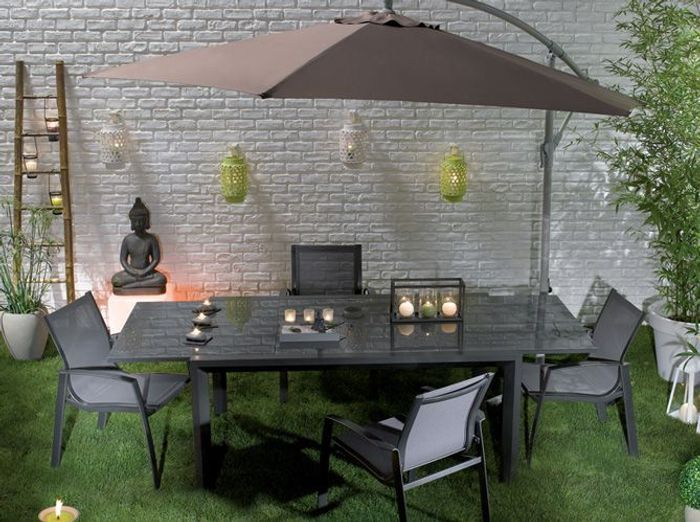 D co de table 50 id es pour l 39 t elle d coration for Decoration pour table de jardin