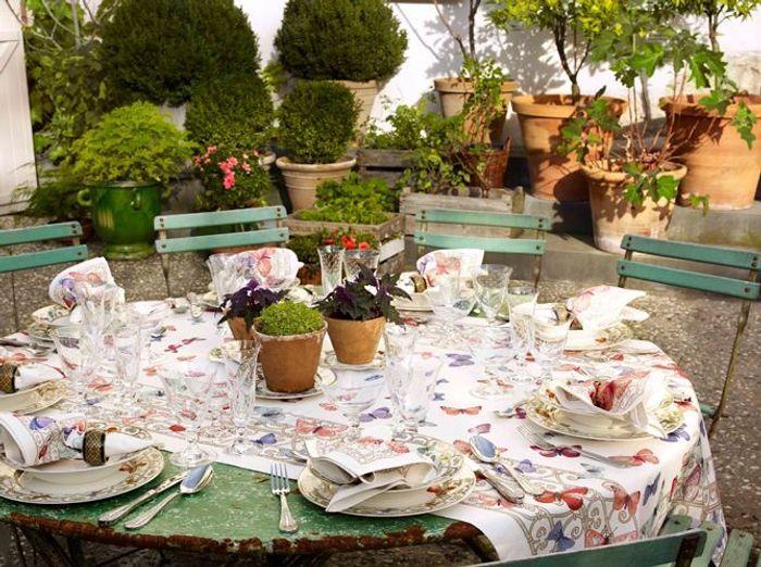 D co de table 50 id es pour l 39 t elle d coration - Idee de decoration de table ...