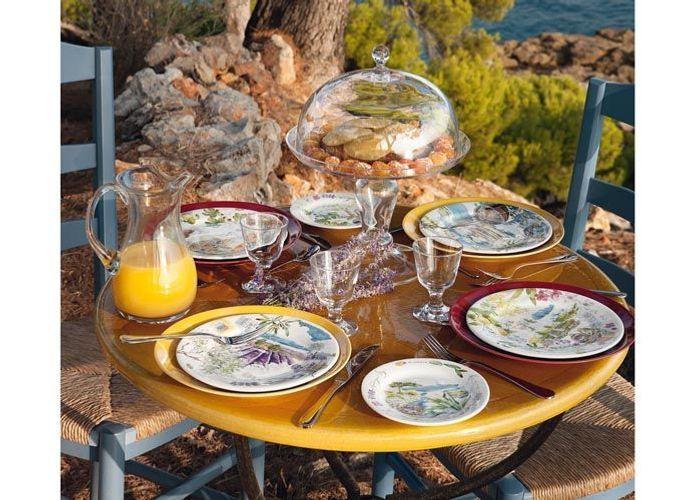 Une d co de table estivale elle d coration - Les bonnes manieres a table en france ...