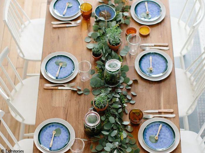 Deco de table kinfolk