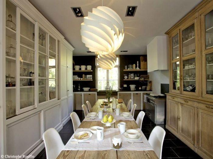 Des salles manger tr s d co elle d coration for Deco salon blanc et bois