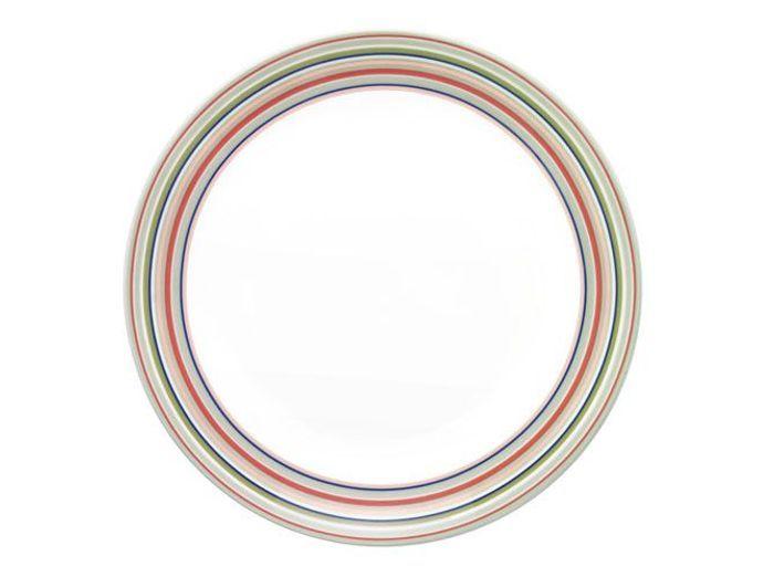 Les assiettes voient haut en couleurs elle d coration - Assiette genevieve lethu ...