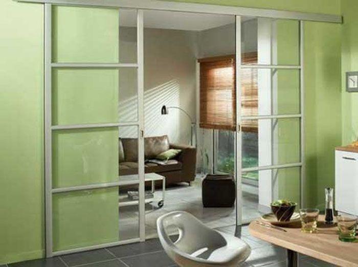Une cloison vitr e et coulissante pour ma cuisine elle - Cloison vitree cuisine ...