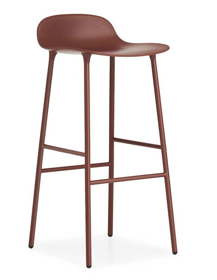 Chaise bar rouge cheap alinea tabouret bar chaise bar bar affordable chaises bar simple - Tabouret 3 pieds ikea ...