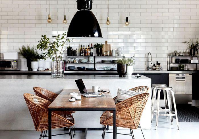 Cuisine ouverte sur salon petit espace cuisine en u ouverte pour tout espace u2013 55 photos et - Cuisine ouverte salon petit espace ...