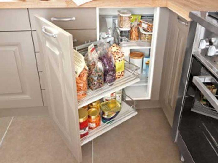 D couvrez ce petit appartement bien organis elle d coration - Amenagement petite cuisine en u ...