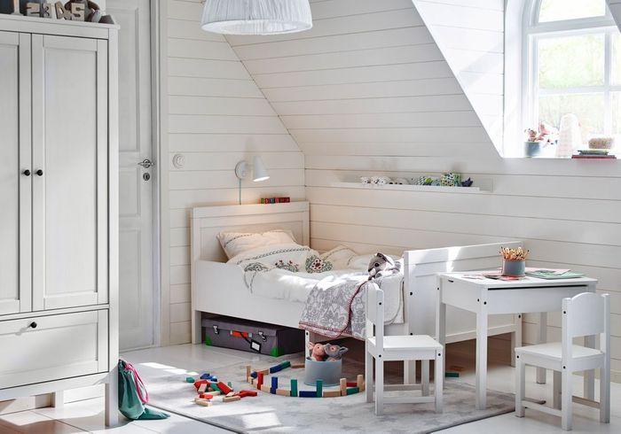 Comment am nager une petite chambre d enfant nos conseils pour d corer une petite chambre d - Besta kinderzimmer ...