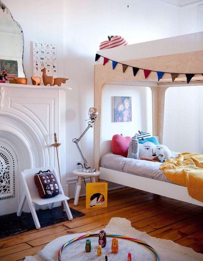 comment am nager une petite chambre d enfant nos. Black Bedroom Furniture Sets. Home Design Ideas