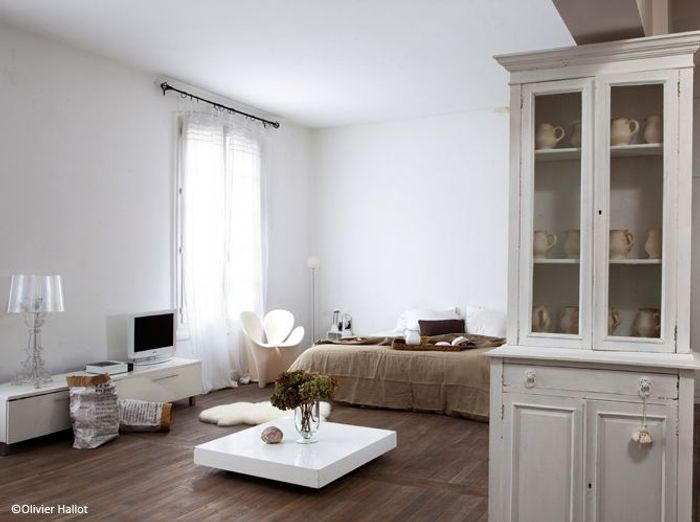 Comment d corer un petit appartement sans l encombrer for Salon petit appartement