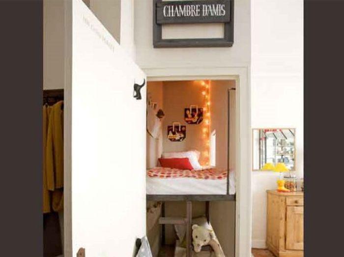 Des chambres id ales pour des petites surfaces elle for Chambre bebe petite surface