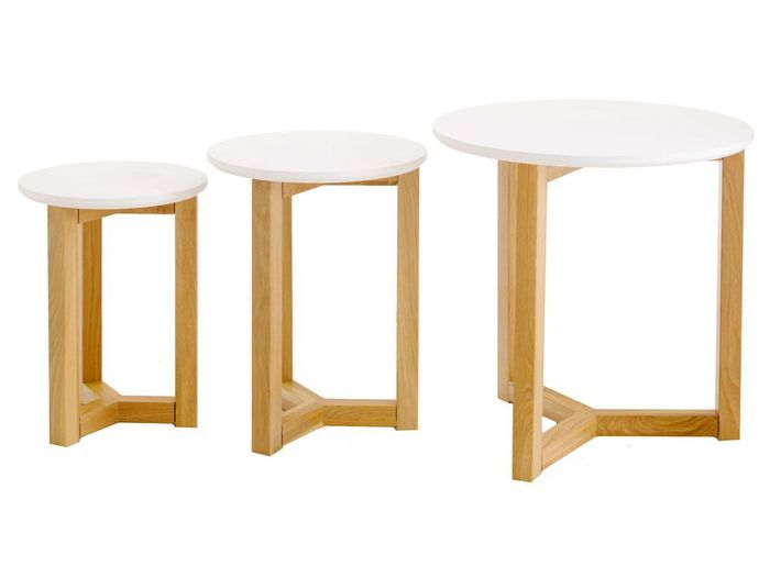 Affordable tables gigognes osaka fly with meuble coiffeuse fly for Meuble coiffeuse fly