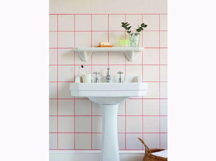 Salle de bains graphique
