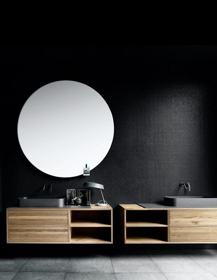 Jouez l'asymétrie dans la salle de bains
