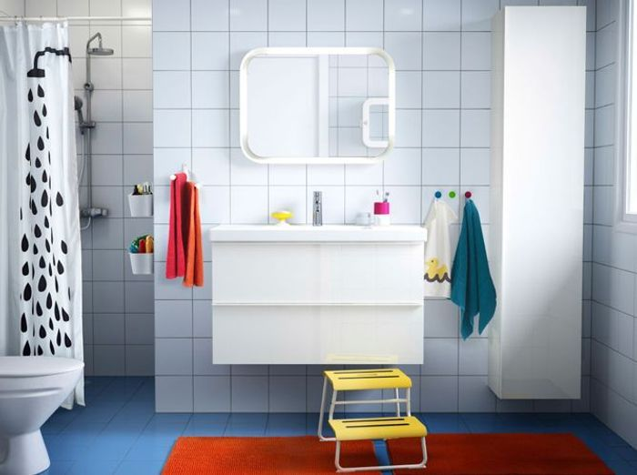 salle de bain enfant coloree - Salle De Bain Enfants