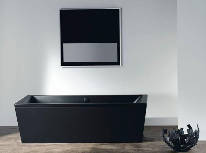22 baignoires pour se d tendre elle d coration - Baignoire noire ...
