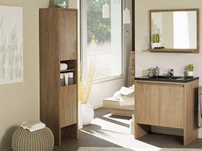 40 armoires de salle de bains elle d coration for Colonnes salle de bain