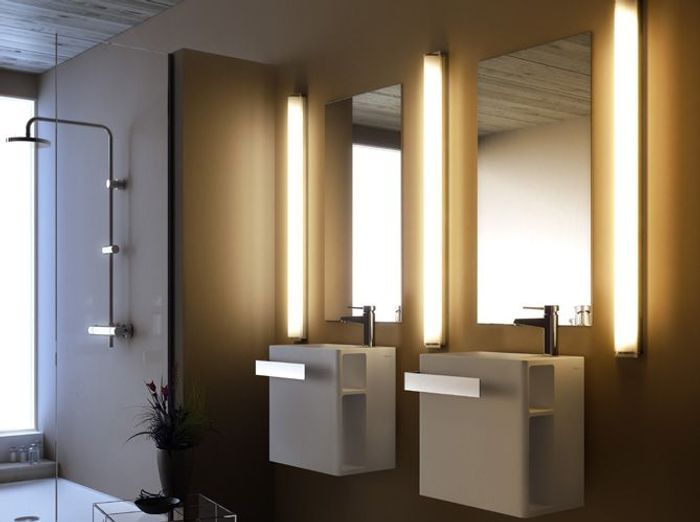 interesting je veux le meilleur luminaire pour ma salle de bains with rampe led salle de bain. Black Bedroom Furniture Sets. Home Design Ideas
