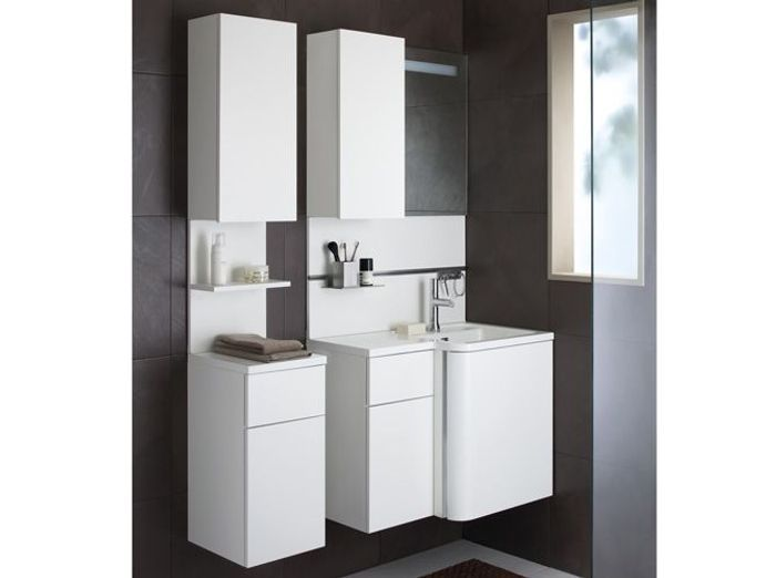 meuble de salle de bain gain de place colonne simple porte miroir cm with meuble de salle de. Black Bedroom Furniture Sets. Home Design Ideas