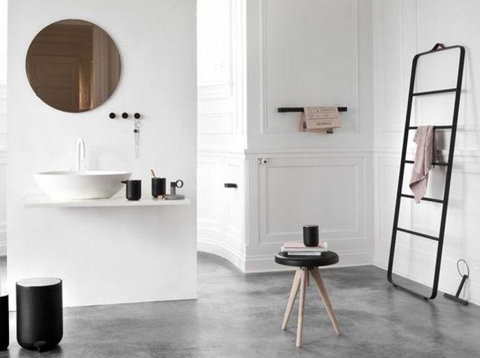 shopping : quel porte-serviette pour ma salle de bains ? - elle ... - Porte Serviette Salle De Bain Design
