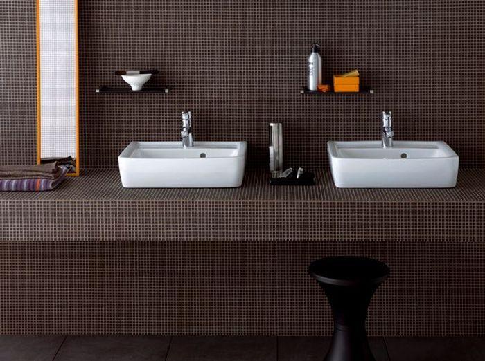 Vasque Double Salle De Bain Ikea : Pratiques et déco les doubles vasques ! – Elle Décoration