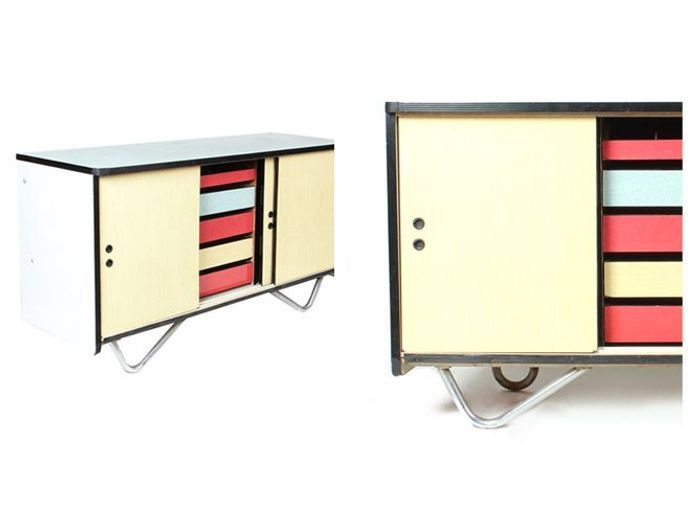 Console vintage formica