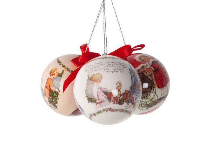 25 boules de Noël traditionnelles