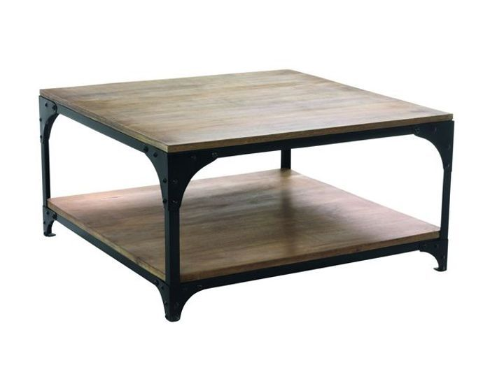 50 tables basses pour tous les styles elle d coration for Table de salon style industriel