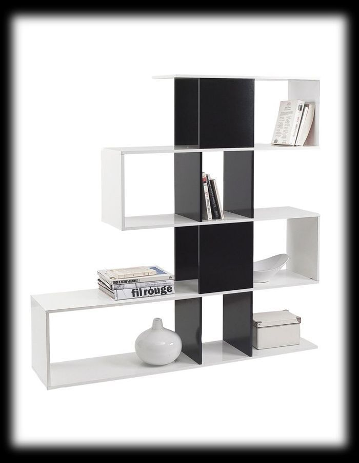 biblioth ques 14 id es pour cloisonner l espace elle d coration. Black Bedroom Furniture Sets. Home Design Ideas