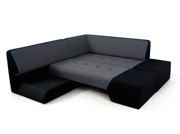 shopping notre s lection de 30 canap s d 39 angle elle. Black Bedroom Furniture Sets. Home Design Ideas
