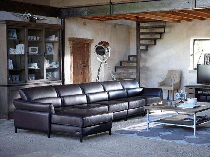Canape d angle grange