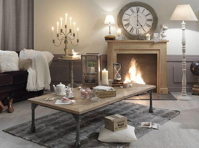 d co douillette pour affronter l 39 hiver elle d coration. Black Bedroom Furniture Sets. Home Design Ideas