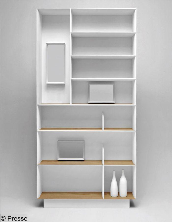 des biblioth ques qui font salon elle d coration. Black Bedroom Furniture Sets. Home Design Ideas